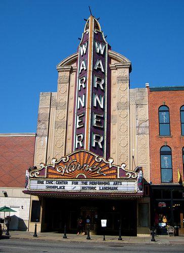 warner theatre erie: