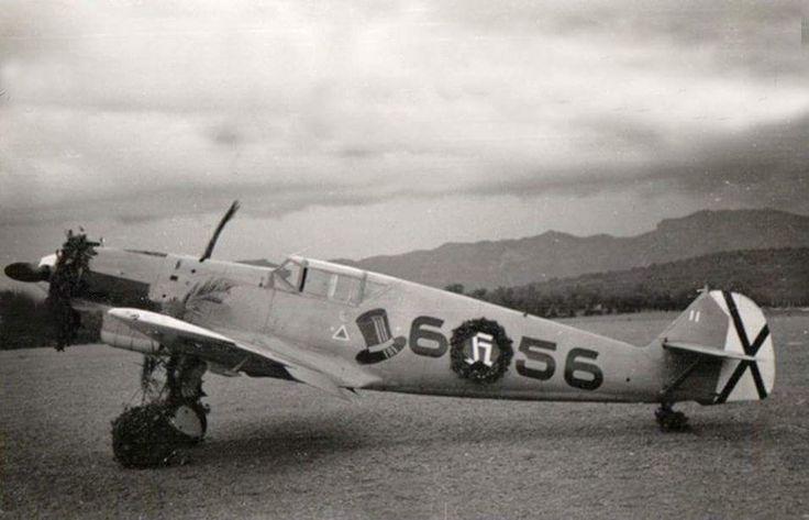 Messerschmitt Bf 109D J88 Legion Condor 6x56 Gotthard Handrick Spain 1938
