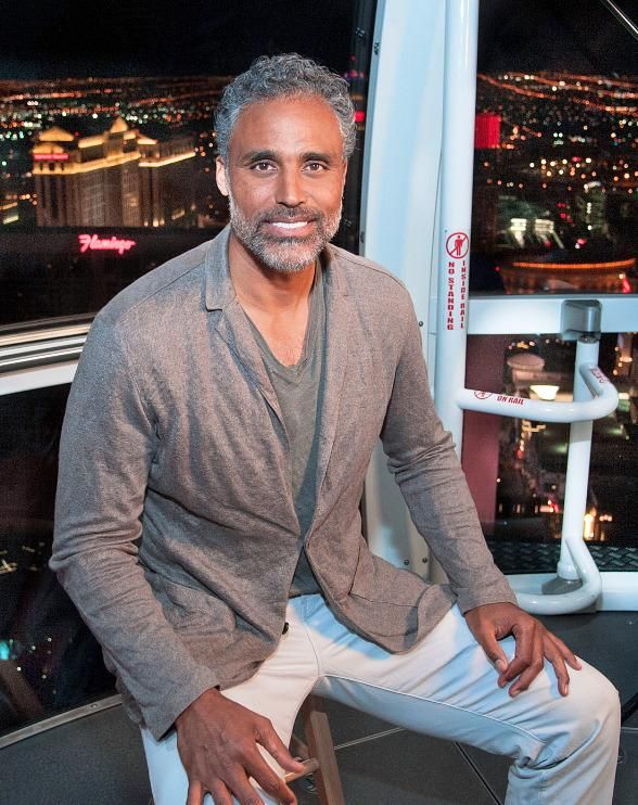 "Rick Fox experiences The High Roller for an episode of his show ""Rick Fox After Dark""  (Photo credit: © Patrick Gray / www.KabikPhotoGroup.com)."