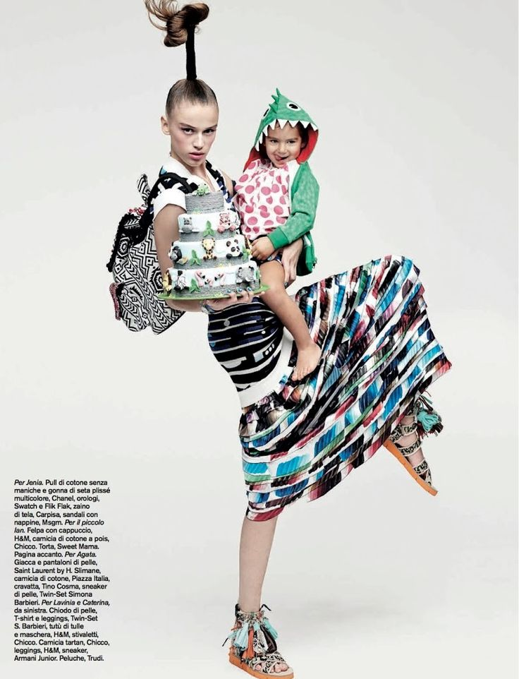 D La Repubblica Abril 2014 | Natalia Belova, Agata Danilova + Mais por Takay