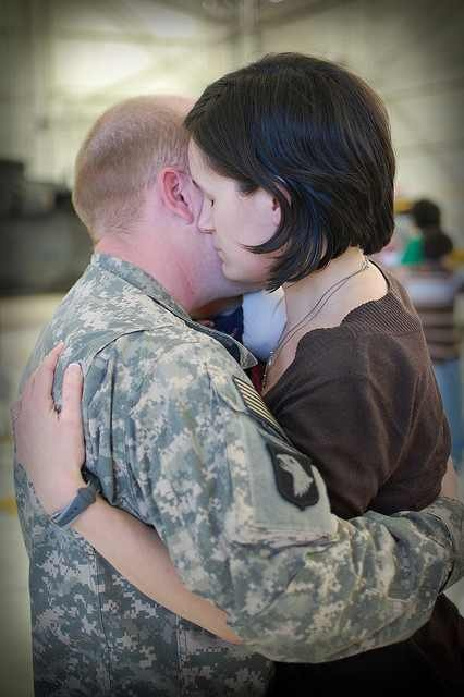 The Frugal Army Wife: 4 Ways to Assure Your Military Spouse You're Sticking Around