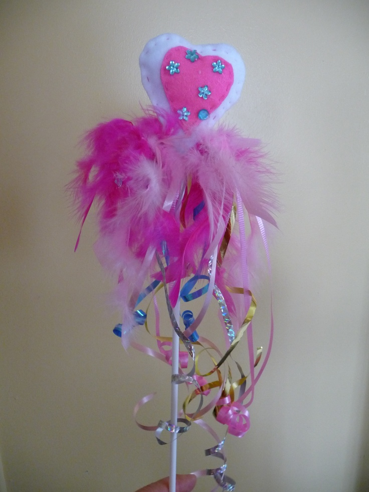 Fairy wand for little girls i made.
