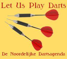 Darttoernooien in Groningen, Friesland en Drenthe.