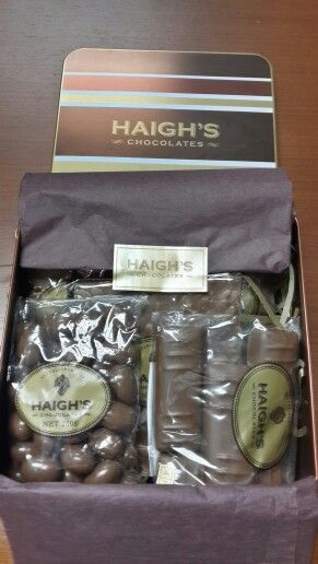 Haigh's Chocolate; proudly Adelaide :)