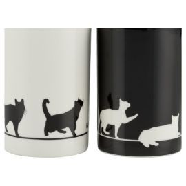 Buy Tesco Silhouette Cat Set Of 4 Porcelain Mugs from our Mugs & Cups range - Tesco.com