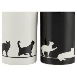 Buy Tesco Silhouette Cat Set Of 4 Porcelain Mugs from our Mugs & Cups range - Tesco.com