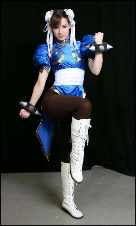 Street Fighter Chun Li Cosplay