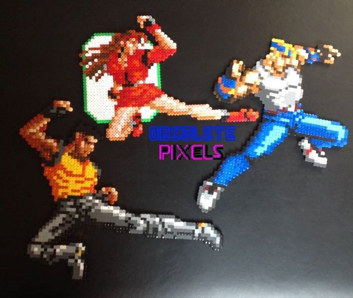 Streets of Rage Pixel Art by Obsolete Gaming