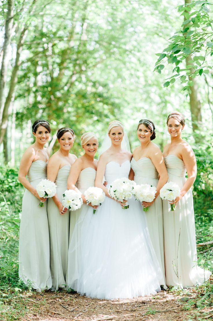 219 best bridesmaid dresses images on pinterest boyfriends elegant all white wedding in washington dc ombrellifo Choice Image