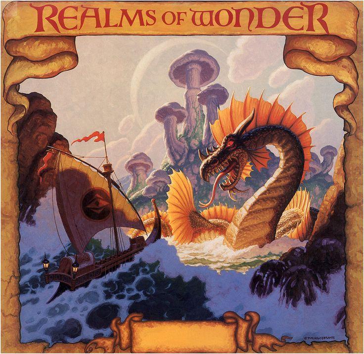 Calendar Art Sci : Best tim hildebrandt realms of wonder y dungeons