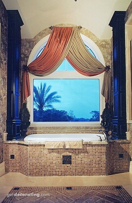 Best 25 arched window coverings ideas on pinterest for How to decorate an arched window