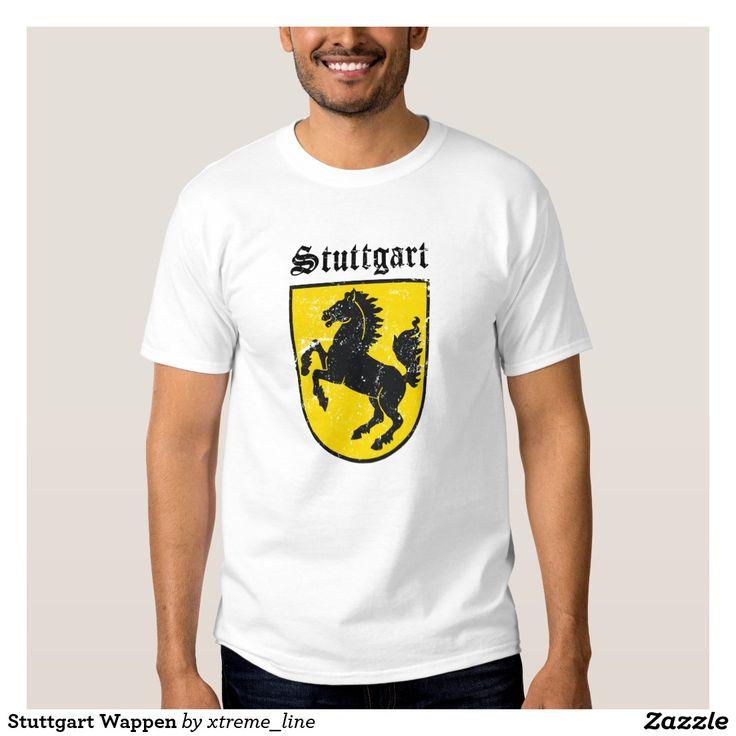 Stuttgart Wappen T-Shirt. Germany City Clothing.
