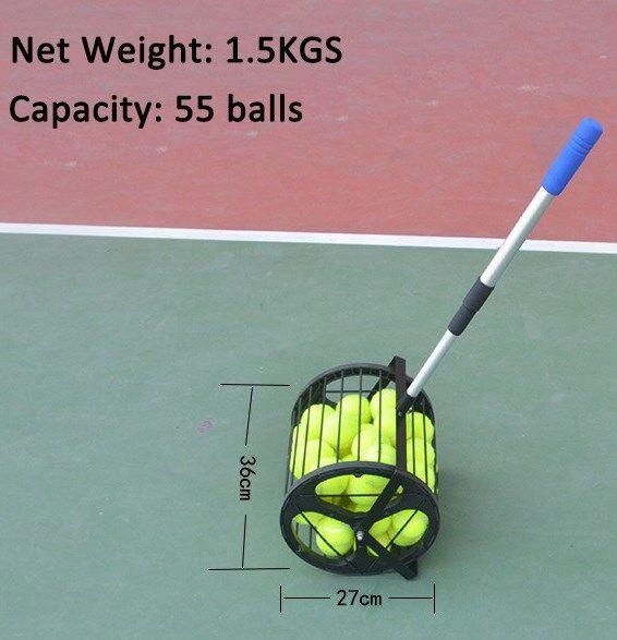 Tennis Ball Hopper Roller With Images Tennis Ball Tennis Tennis Equipment