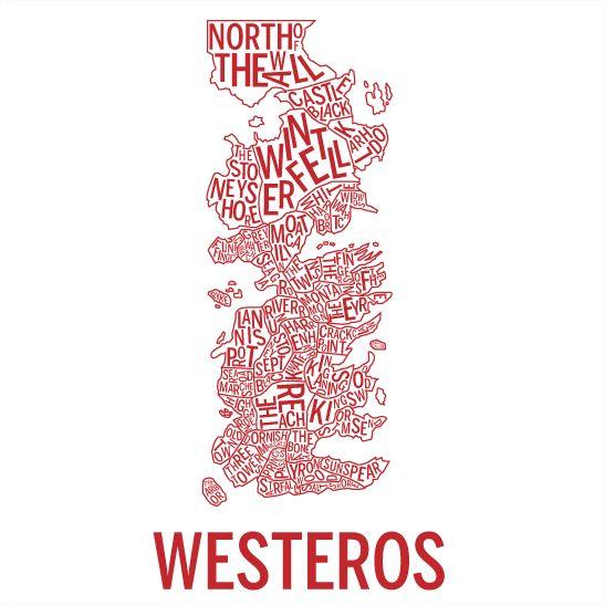 Westeros röd
