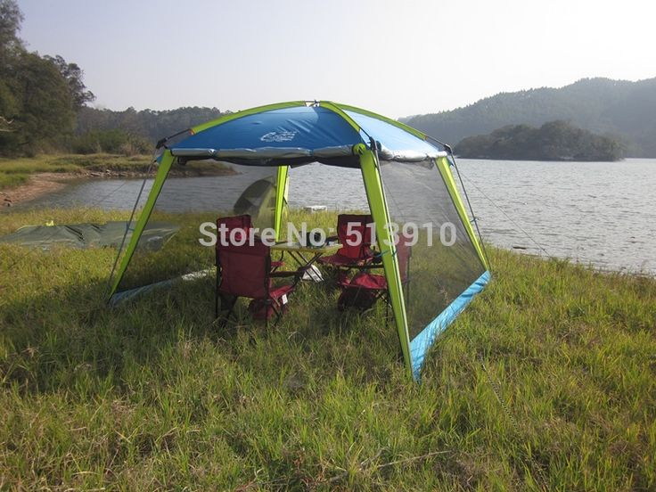 78.20$  Watch now - http://aliboh.worldwells.pw/go.php?t=1849387321 - 2015 Upgrade gazebo/double layer beach tent sunscreen uv awning recreational fishing anti-mosquito shed  without floor mat 78.20$