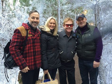 The couple have met stars galore on the way including Elton John and David Furnish, who visit the attraction every year. Elton even dedicated a song