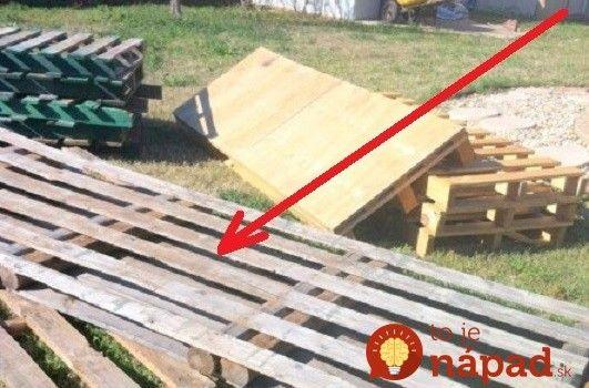 Muž si na pozemok priviezol drevené palety: O dva dni neskôr by ste jeho záhradu nespoznali!