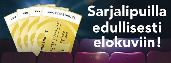 Sarjaliput | www.finnkino.fi  poitsu tykkää käydä leffateatterissa