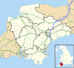 Torquay is located in Devon