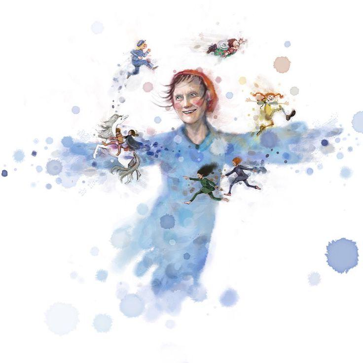 Astrid Lindgren - en biografi av Agnes-Margrethe Bjorvand og Lisa Aisato, 2015