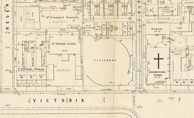 Fitzroy Cyclorama location