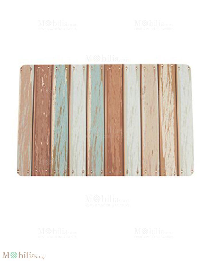 Tovagliette all'americana, effetto legno per un buongiorno particolare. Novità su Mobilia Store.