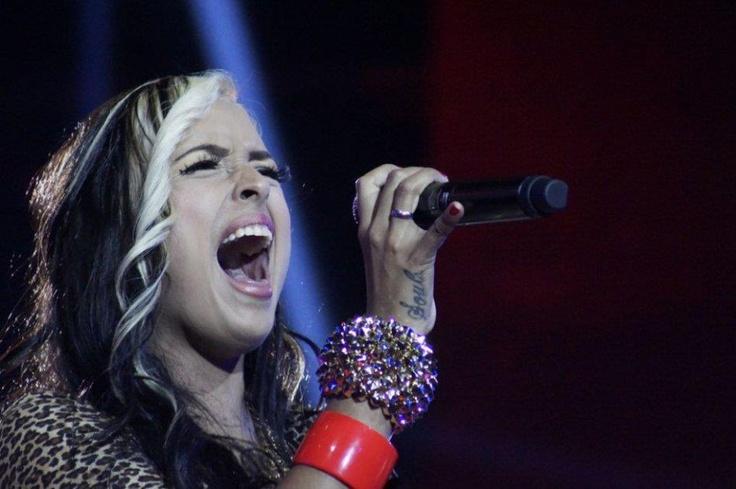 Para esta participante es un sueño hecho realidad cantar en la 'La Voz Colombia' y en la penúltima noche de competencia entregó todo en el diamante.