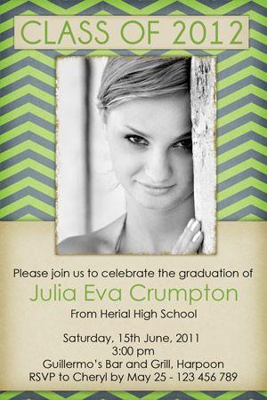 homemade graduation invitation ideas custom photo graduation open