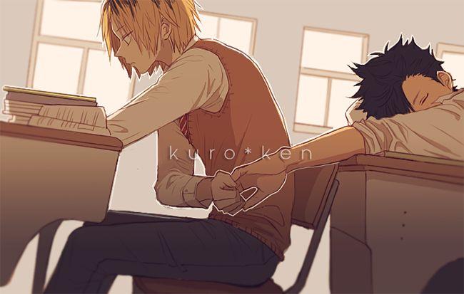 Kuroo and Kenma - Haikyuu!! | I don't think I ship it but thery are sooo cute *3*