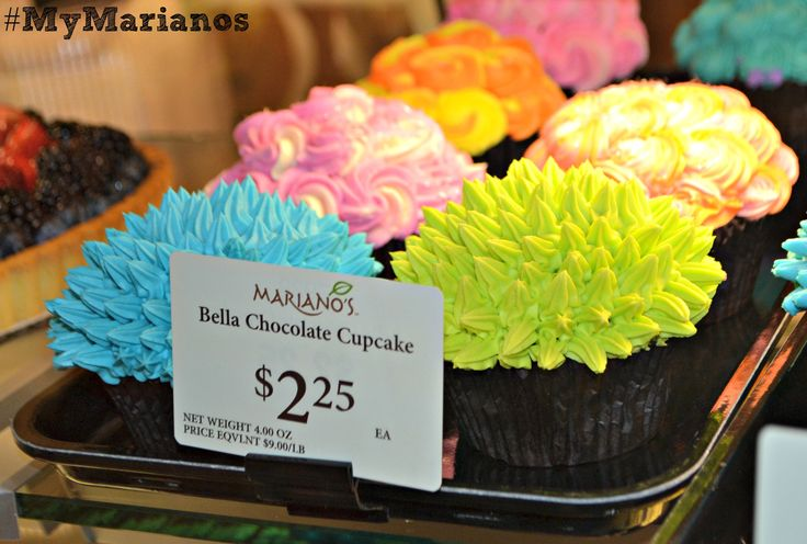 Bella Chocolate Cupcakes Mariano S Stores Pinterest