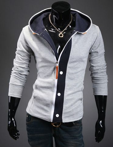 Casual Hoodie Jacket for Men Fashion