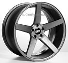 """20"""" STR607 Matte Grey **DEEP CONCAVE** Wheels Rims    ** STR607-GM  ** Free Shipping Special - Continental US only  ** 4pcs (Set)  ** Graphite  ** 20""""Staggered  ** Local Pickup Welcome !!!  ** Shipping fees include mount and balance  and lugs and locks  if you purchase the wheel and tire package"""