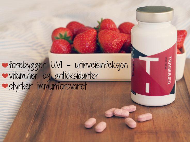 Tranebær er perfekt for deg som sliter med urinveisinfeksjon. I tillegg er den rik på vitaminer og antioksidanter!