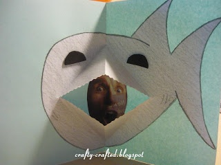 Pop-Up Card – Shark « Animal Crafts « Crafty-Crafted.com