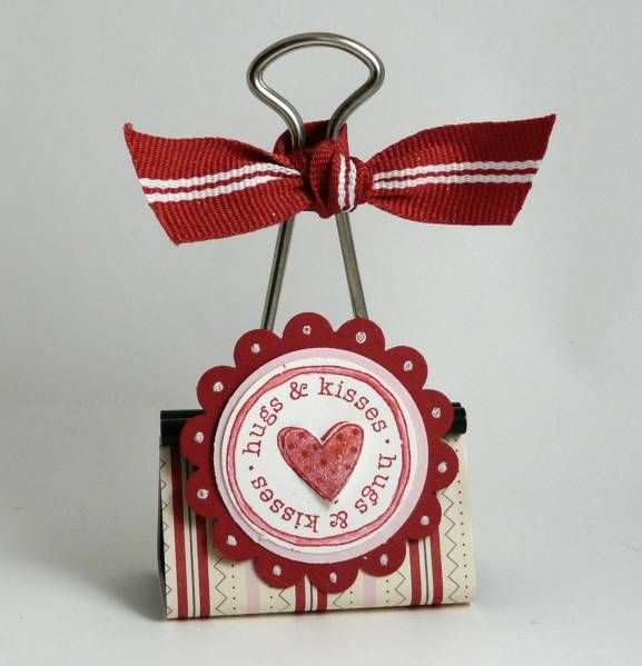 Binder Clip by Stamp Addict 77 - Cards and Paper Crafts at Splitcoaststampers