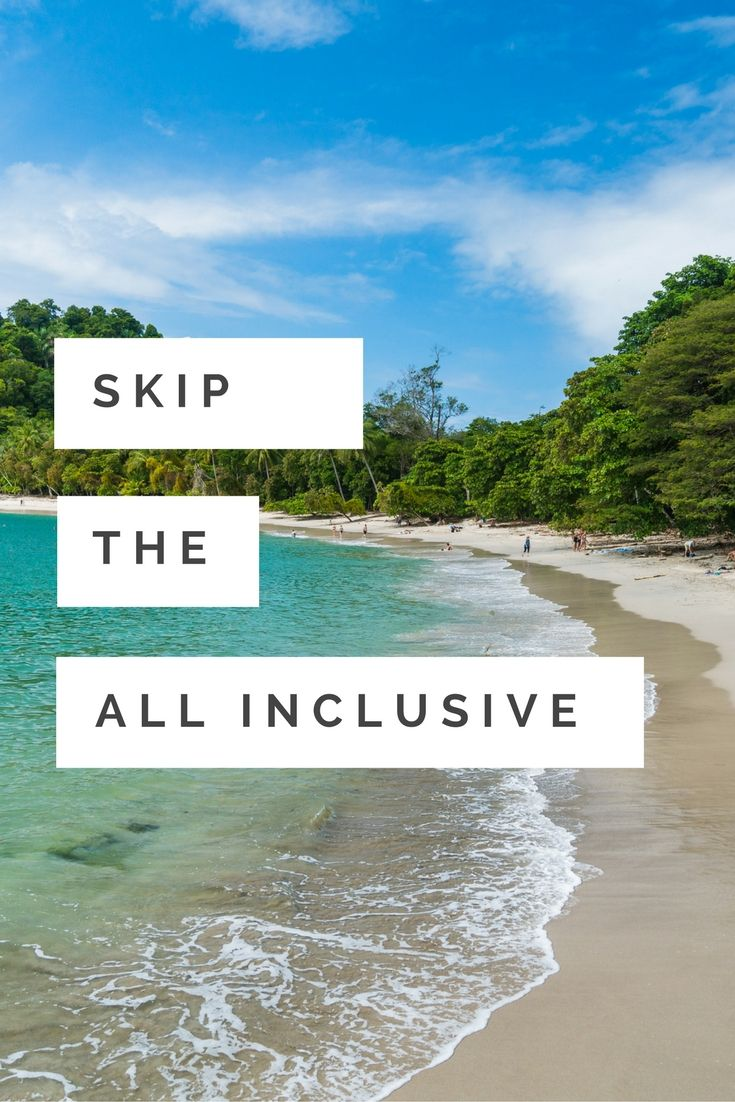 Looking for a more meaningful trip? Look no further. Skip the all inclusive and dive into exceptional service at Arenas del Mar. #costarica #vacation #travel #allinclusive
