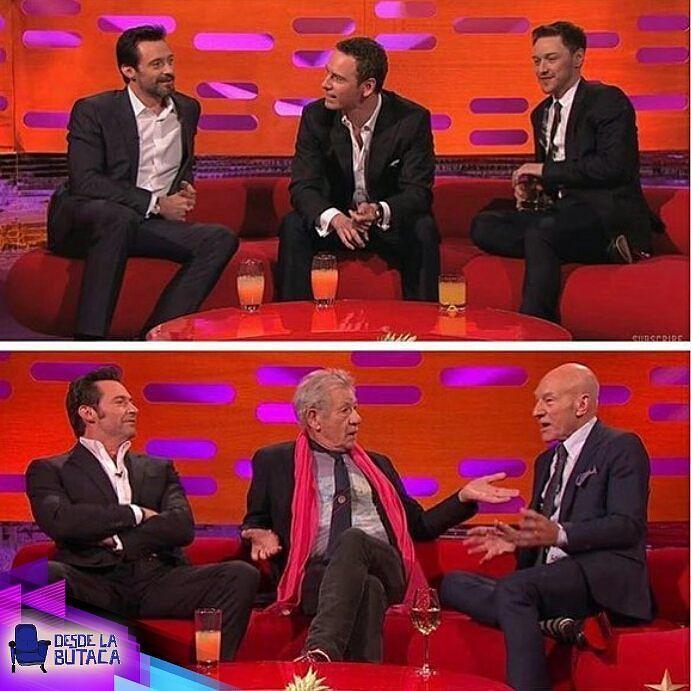 Charlas entre amigos que duran... Toda una vida  #humor #wolverine #Xmen #Magneto #Charles
