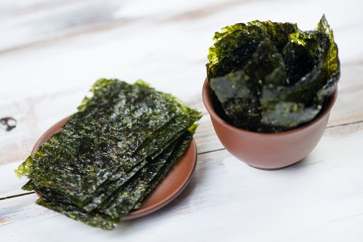 Overindulgence of Fat Antidotes: Quick Fixes for Diet Slipups - 500mg pill of matcha green tea supplement to block fat from being absorbed. A;lso eat seaweed - one roll of sushi (a half-sheet of seaweed), a seaweed salad or 1T. seaweed flakes