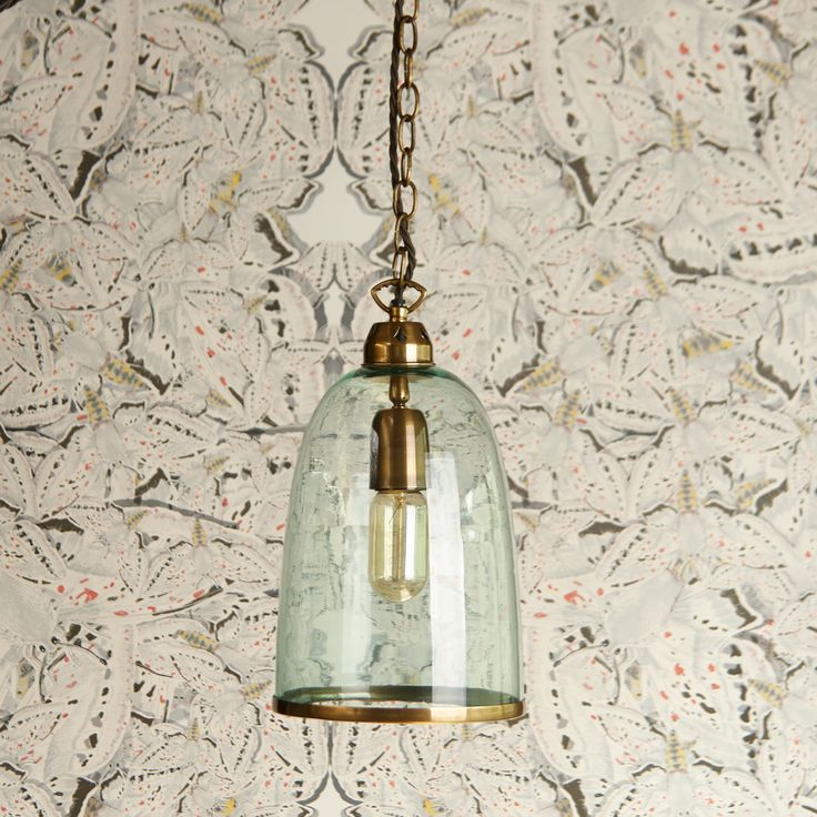 Another glass and brass gem. Gentle flowing outline with seriously beautiful antique brasswork throughout