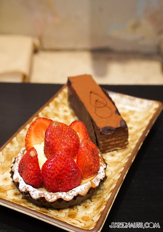 La Banette Glebe - strawberry tart.