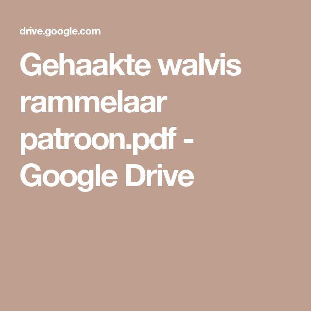 Gehaakte walvis rammelaar patroon.pdf - Google Drive