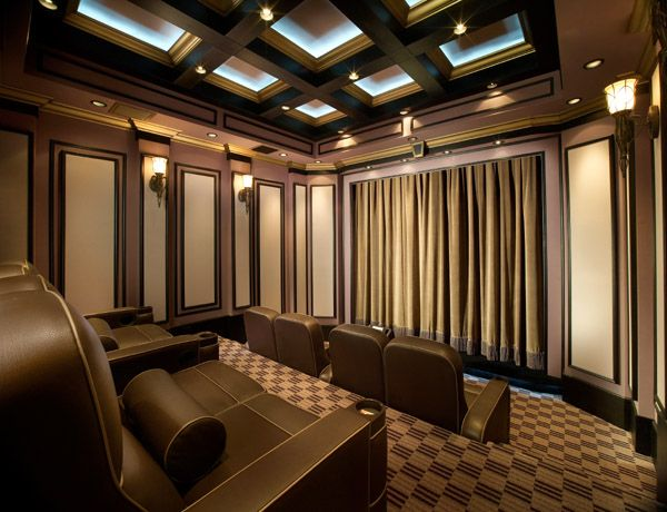 109 Best Basement Home Theater Ideas Images On Pinterest
