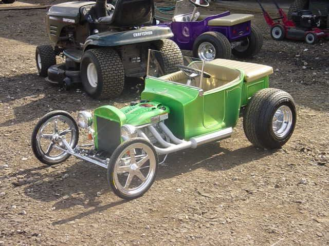 Rat Rod Lawn Tractor : Best pedal cars go karts wagons images on pinterest