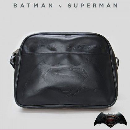 Sacoche à Bandoulière Batman vs Superman sur Logeekdesign