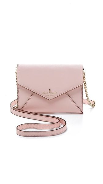 Kate Spade New York Cedar Street Monday Cross Body Bag. Pastel handbag a must for this spring!