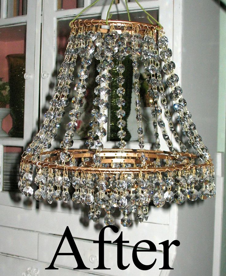 1000 ideas about Diy Chandelier on Pinterest