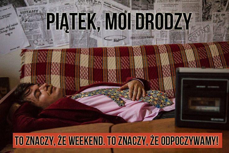Rysiek już się relaksuje #weekend #piątek #friday #KredytyZaufania #prl