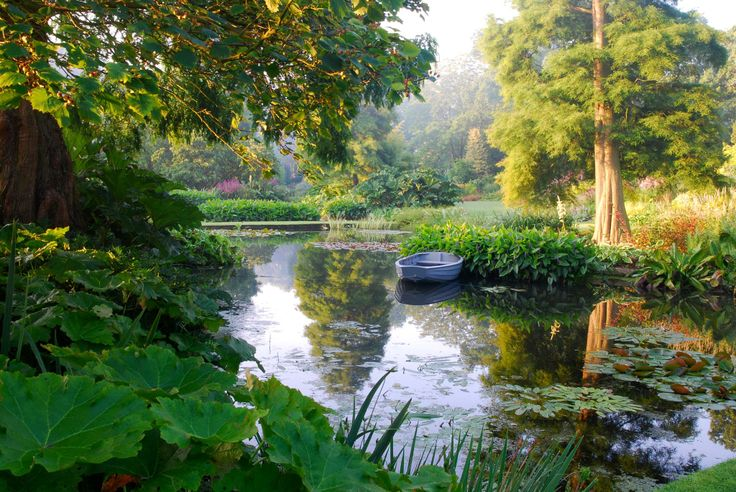 Beth Chatto Garden in the summer.  Perfect peace.