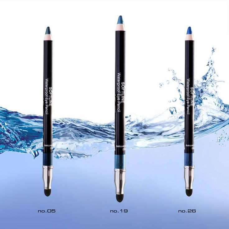 Soft Line Waterproof Eye Pencil | Radiant Professional Make Up Μπλε στις αποχρώσεις του Αιγαίου! #Radiant #Professional #makeup #eyepencil #waterproof