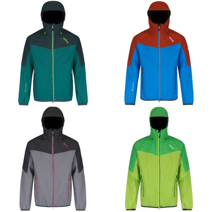 Regatta Great Outdoors Mens Imber II Lightweight Waterproof Jacket #Regatta #ShirtsTops